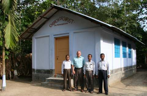 Michael Brooks with Bangladesh preachers